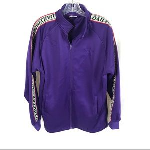 Daily Paper full zip jacket sweatshirt purple